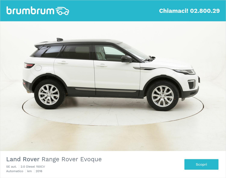 Land Rover Range Rover Evoque SE aut. usata del 2016 con 57.815 km | brumbrum