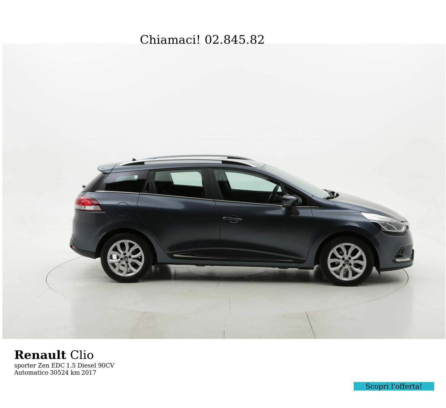 Renault Clio usata del 2017 con 30.554 km | brumbrum