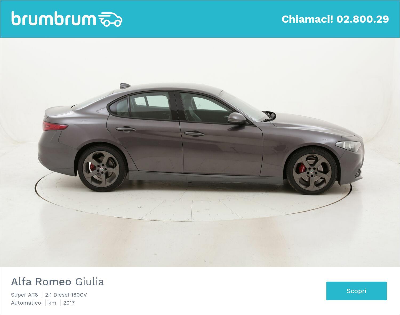 Alfa Romeo Giulia Super AT8 usata del 2017 con 53.941 km   brumbrum