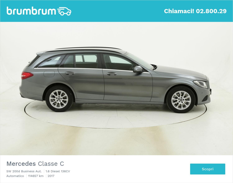 Mercedes Classe C SW 200d Business Aut. usata del 2017 con 115.216 km | brumbrum