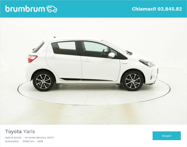 Toyota Yaris usata del 2018 con 21.144 km   brumbrum