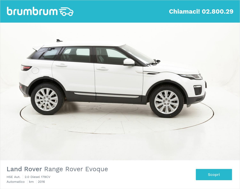 Land Rover Range Rover Evoque HSE Aut. usata del 2016 con 119.785 km | brumbrum