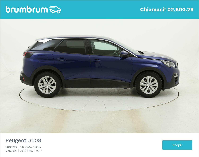 Peugeot 3008 Business usata del 2017 con 79.421 km   brumbrum