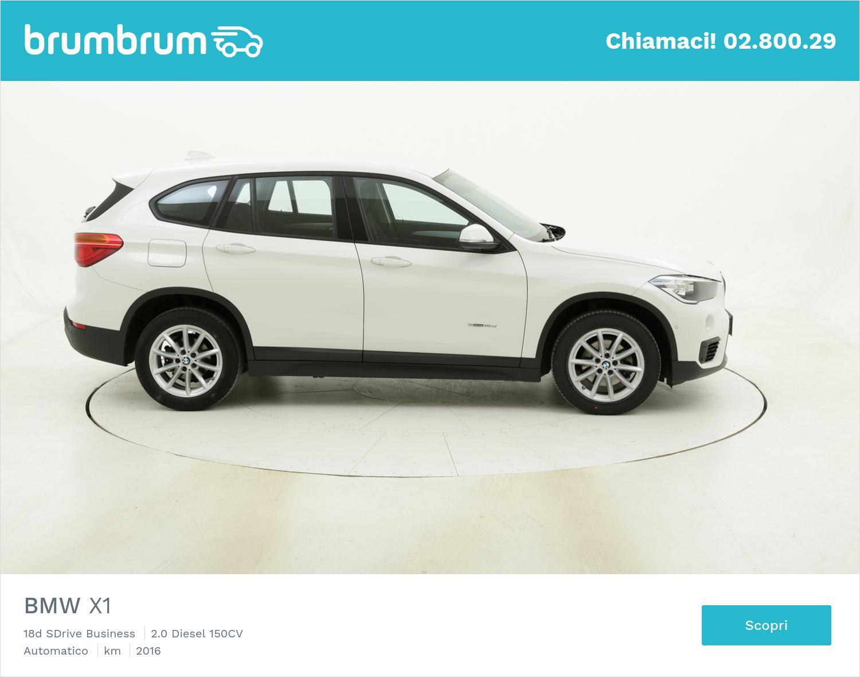 BMW X1 18d SDrive Business usata del 2016 con 67.350 km   brumbrum