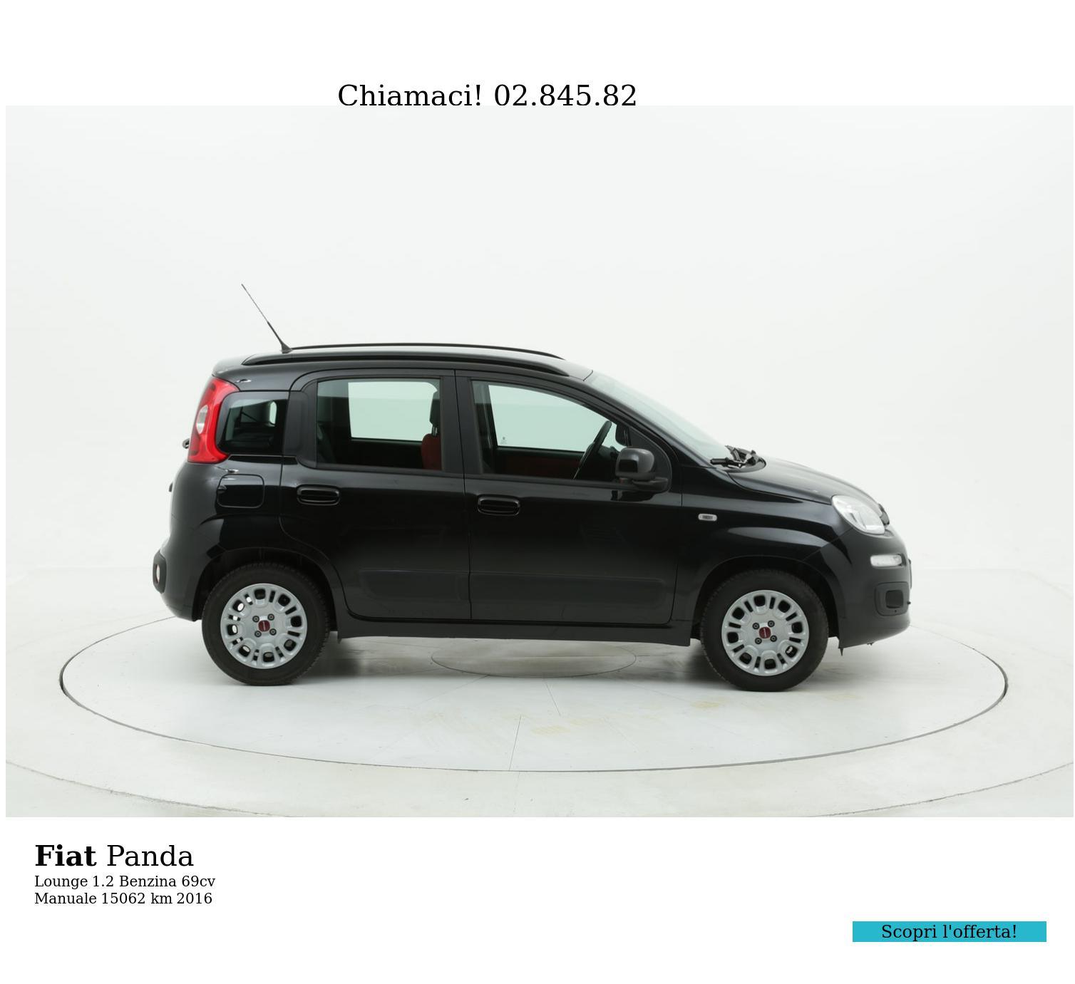 Fiat Panda usata del 2016 con 15.066 km | brumbrum