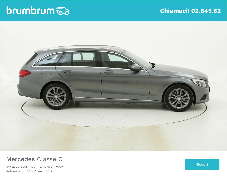 Mercedes Classe C usata del 2017 con 119.878 km   brumbrum