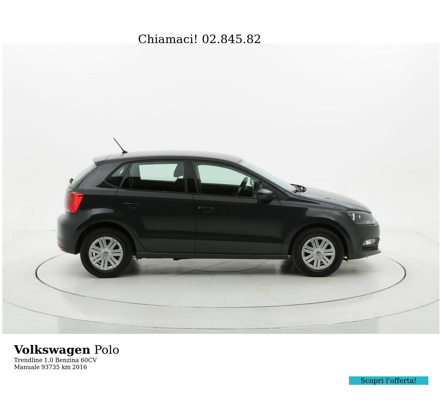 Volkswagen Polo usata del 2016 con 93.801 km | brumbrum