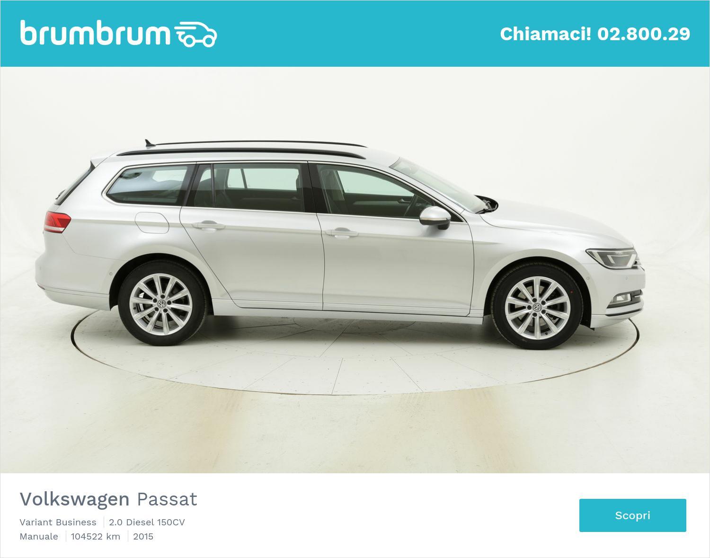 Volkswagen Passat usata del 2015 con 104.538 km | brumbrum