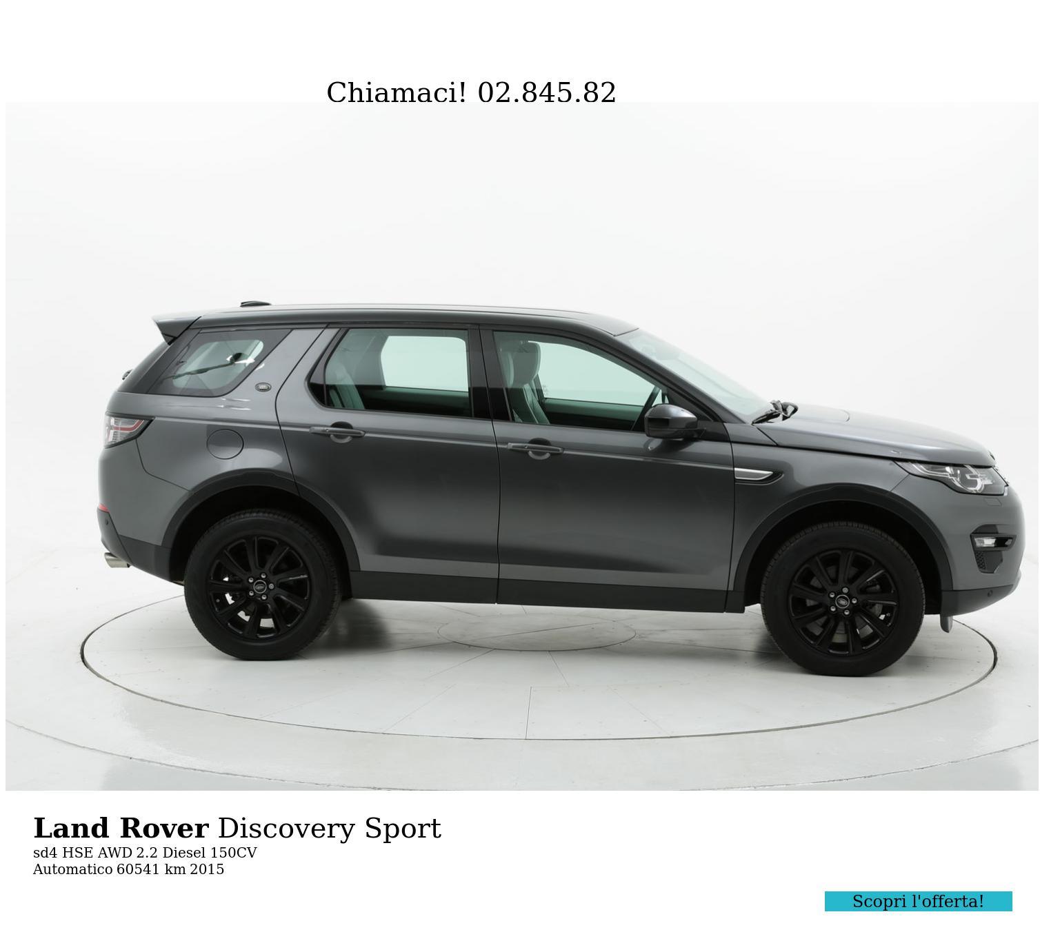 Land Rover Discovery Sport usata del 2015 con 60.553 km | brumbrum