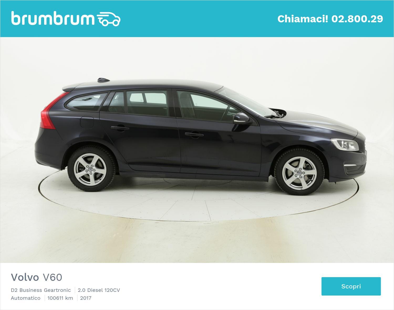Volvo V60 D2 Business Geartronic usata del 2017 con 100.885 km | brumbrum