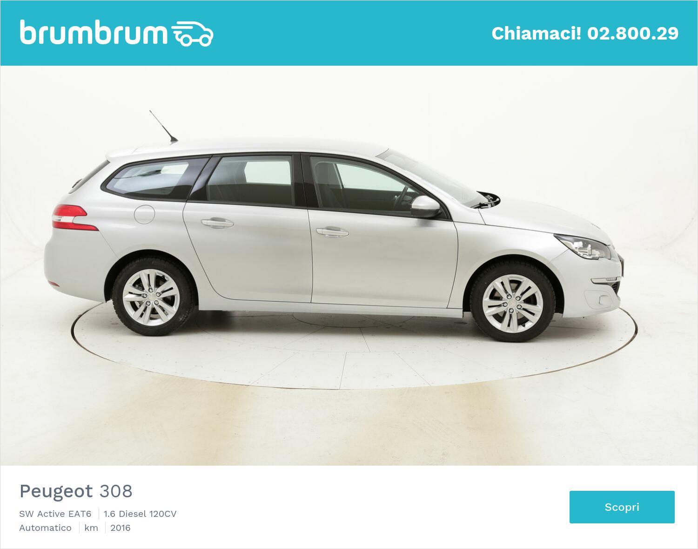Peugeot 308 SW Active EAT6 usata del 2016 con 85.982 km | brumbrum