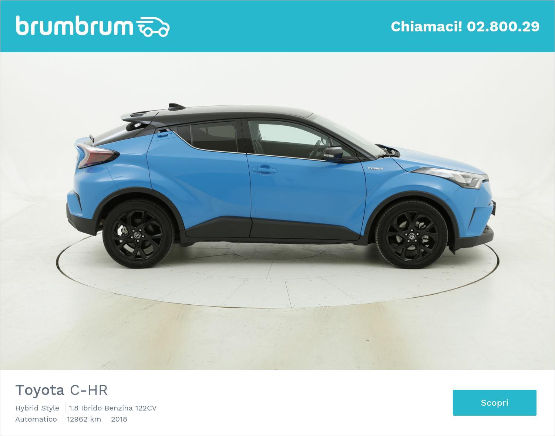 Toyota C-HR usata del 2018 con 12.978 km | brumbrum