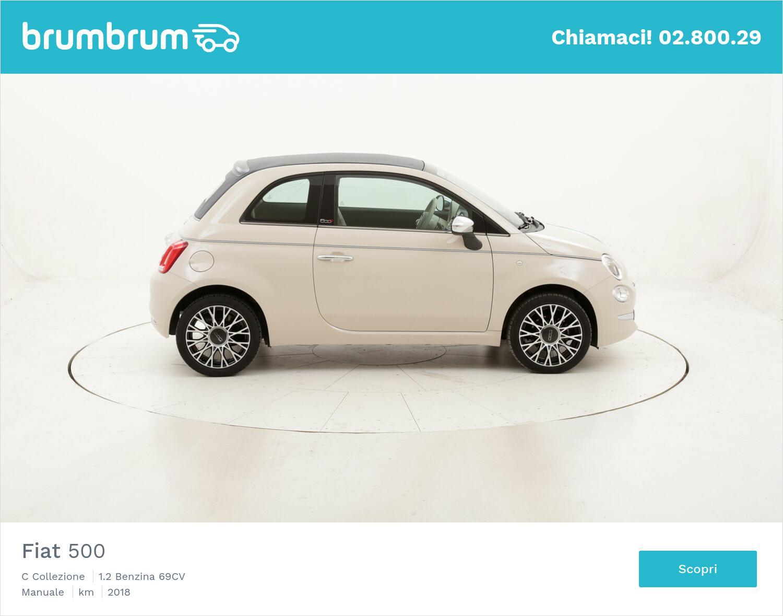 Fiat 500 C Collezione usata del 2018 con 32.460 km | brumbrum