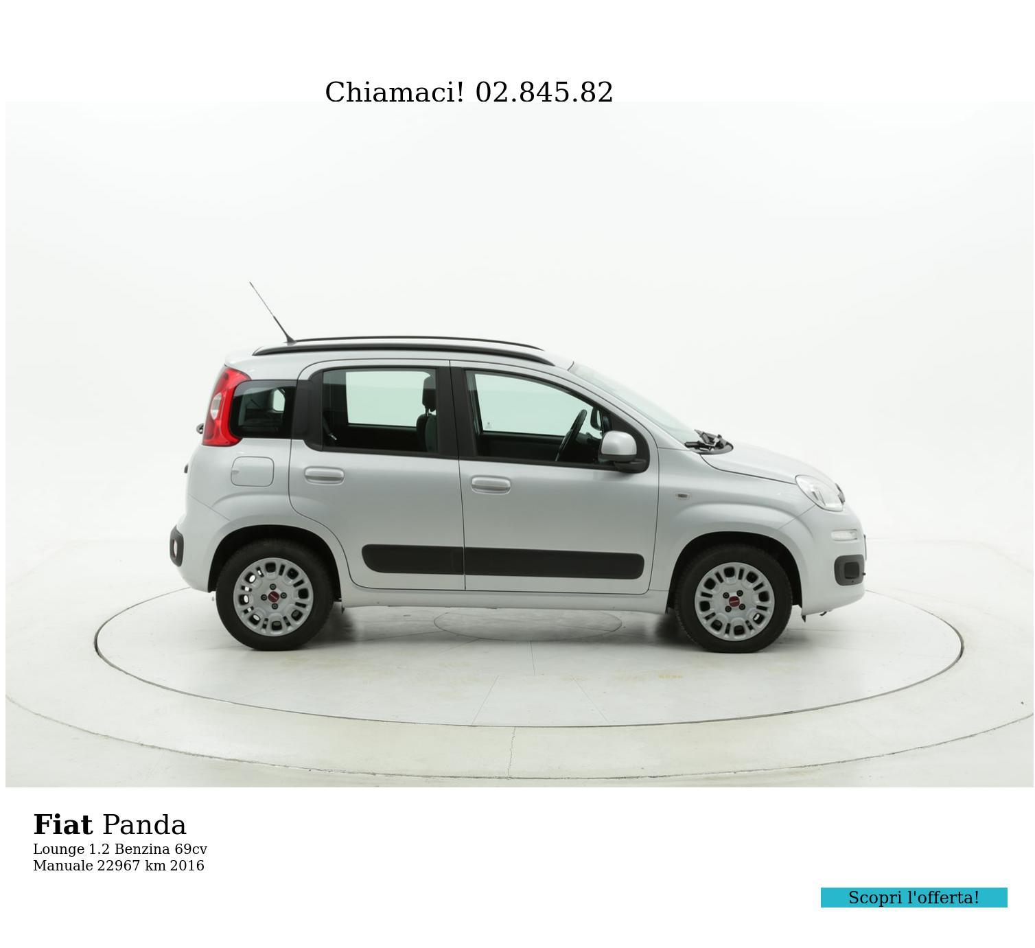 Fiat Panda usata del 2016 con 23.037 km | brumbrum
