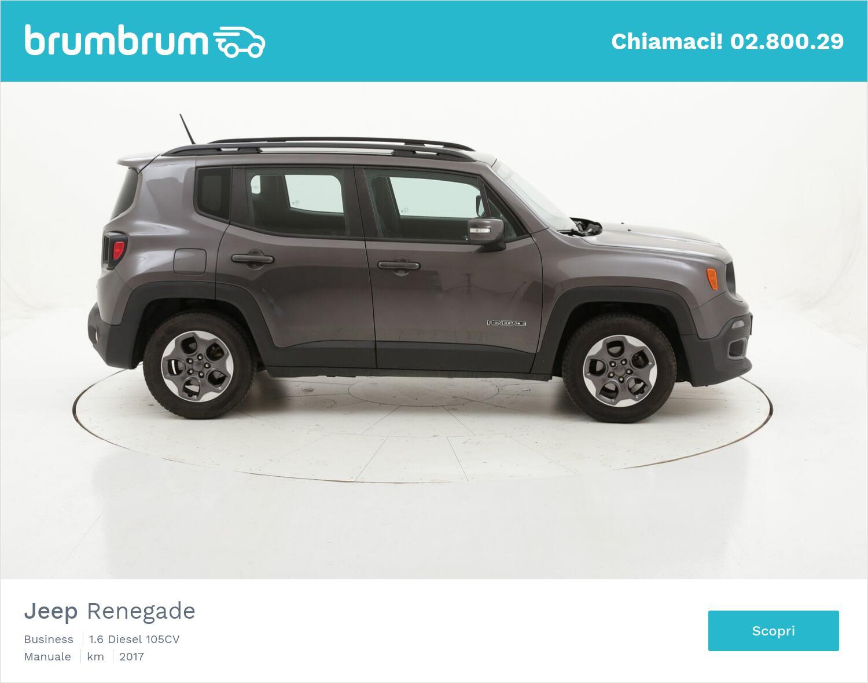 Jeep Renegade Business usata del 2017 con 65.175 km | brumbrum