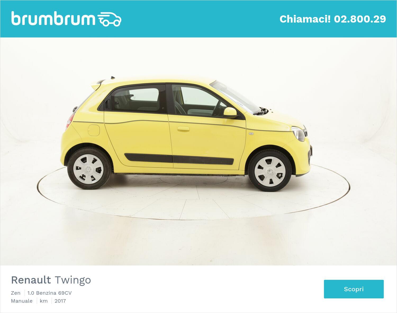 Renault Twingo Zen usata del 2017 con 55.448 km   brumbrum