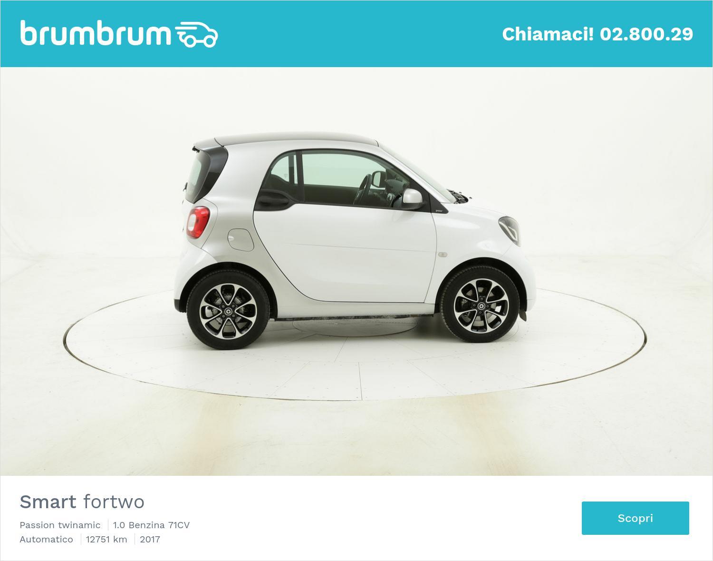 Smart Fortwo Passion twinamic usata del 2017 con 12.766 km | brumbrum