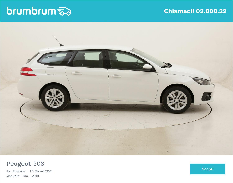 Peugeot 308 SW Business usata del 2018 con 89.400 km | brumbrum