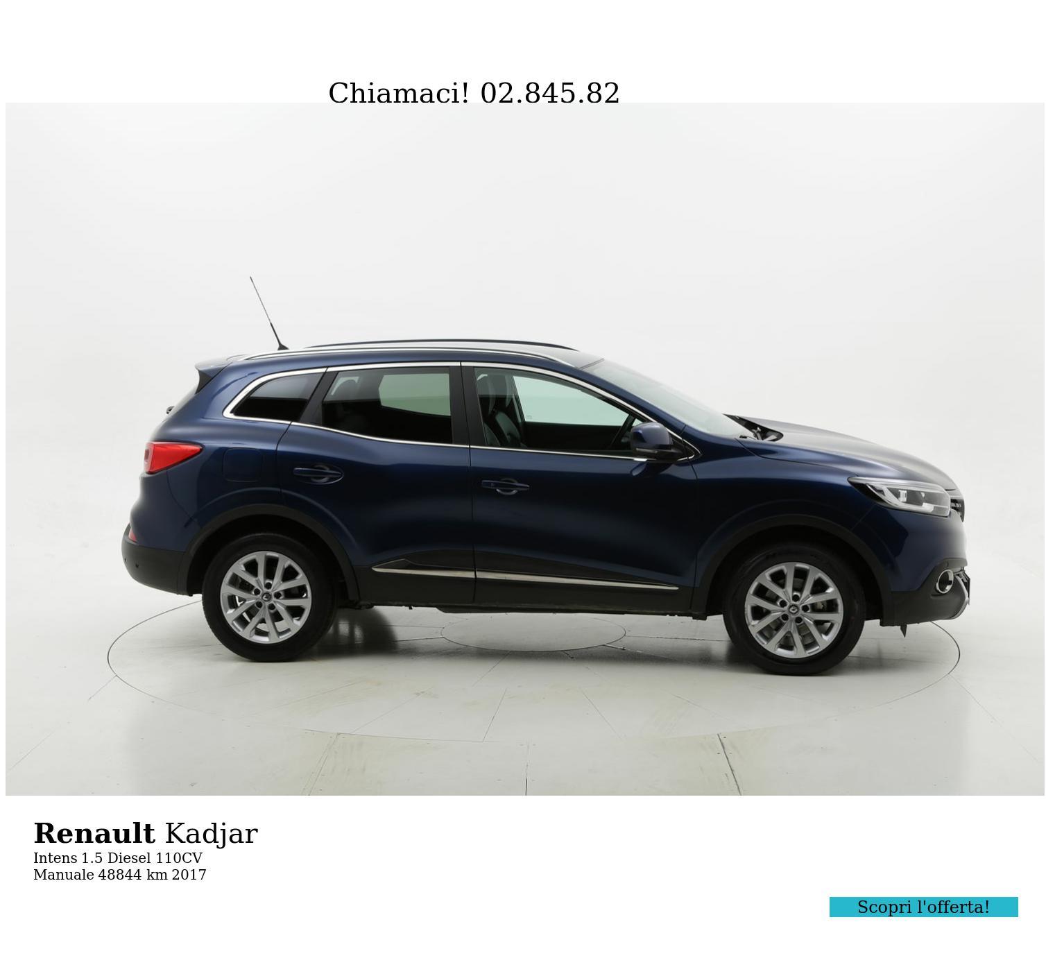Renault Kadjar usata del 2017 con 48.878 km | brumbrum