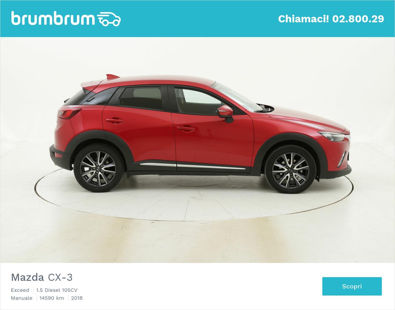 Mazda CX-3 Exceed usata del 2018 con 14.618 km | brumbrum