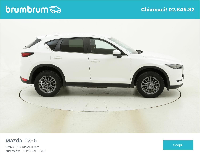 Mazda CX-5 usata del 2018 con 41.427 km   brumbrum