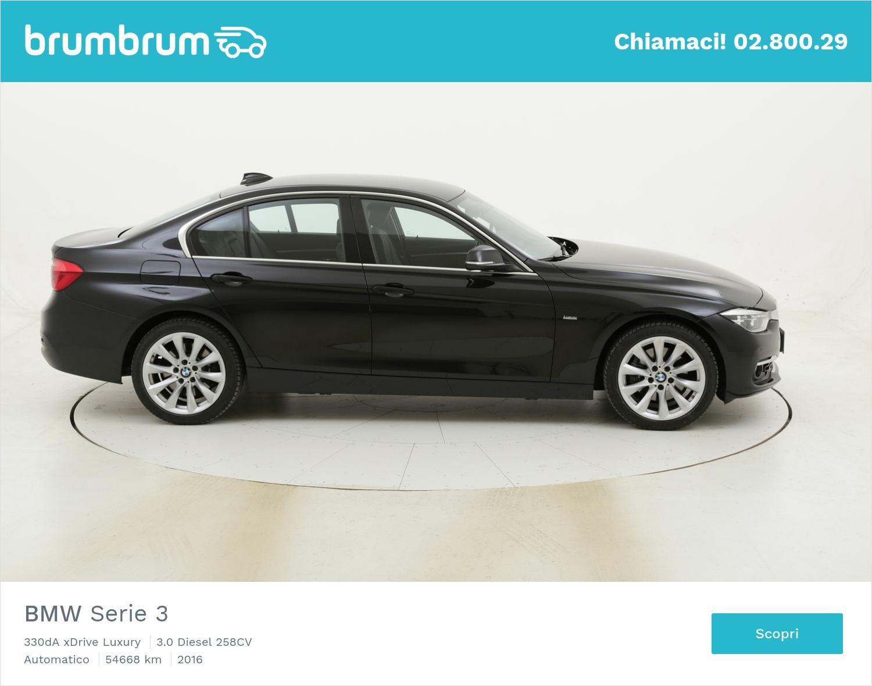 BMW Serie 3 330dA xDrive Luxury usata del 2016 con 55.228 km | brumbrum