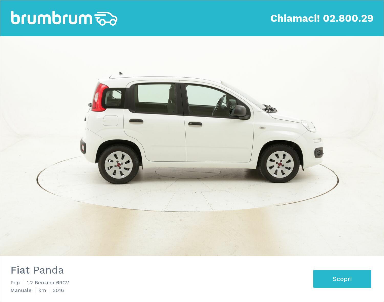 Fiat Panda Pop usata del 2016 con 34.244 km   brumbrum