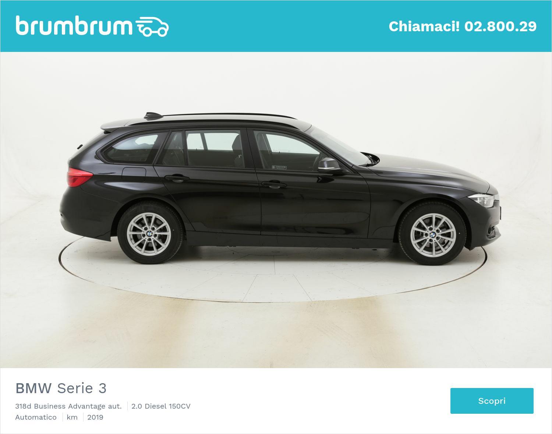 BMW Serie 3 318d Business Advantage aut. usata del 2019 con 14.692 km   brumbrum