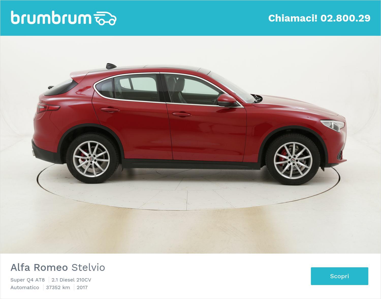 Alfa Romeo Stelvio Super Q4 AT8 usata del 2017 con 37.369 km | brumbrum