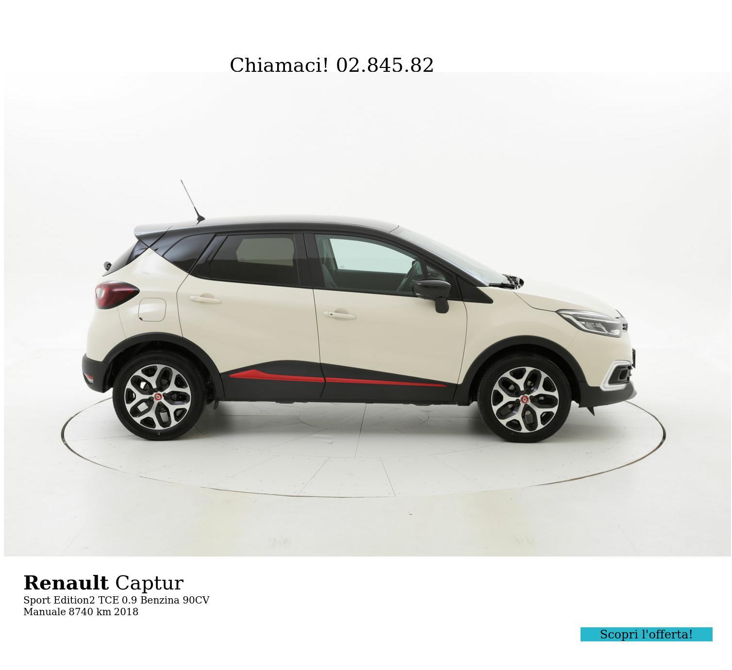 Renault Captur usata del 2018 con 8.746 km | brumbrum