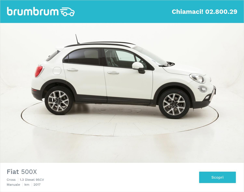 Fiat 500X Cross usata del 2017 con 119.597 km | brumbrum