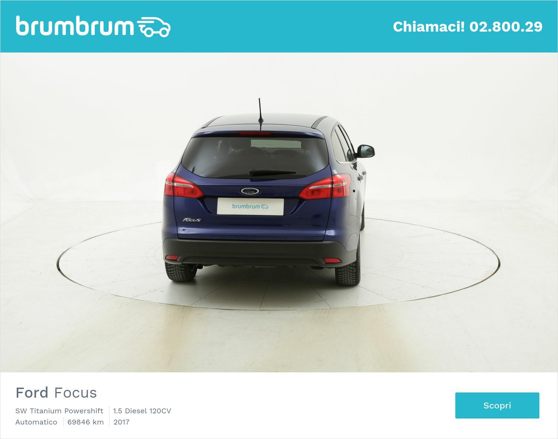 Ford Focus SW Titanium Powershift usata del 2017 con 69.874 km | brumbrum