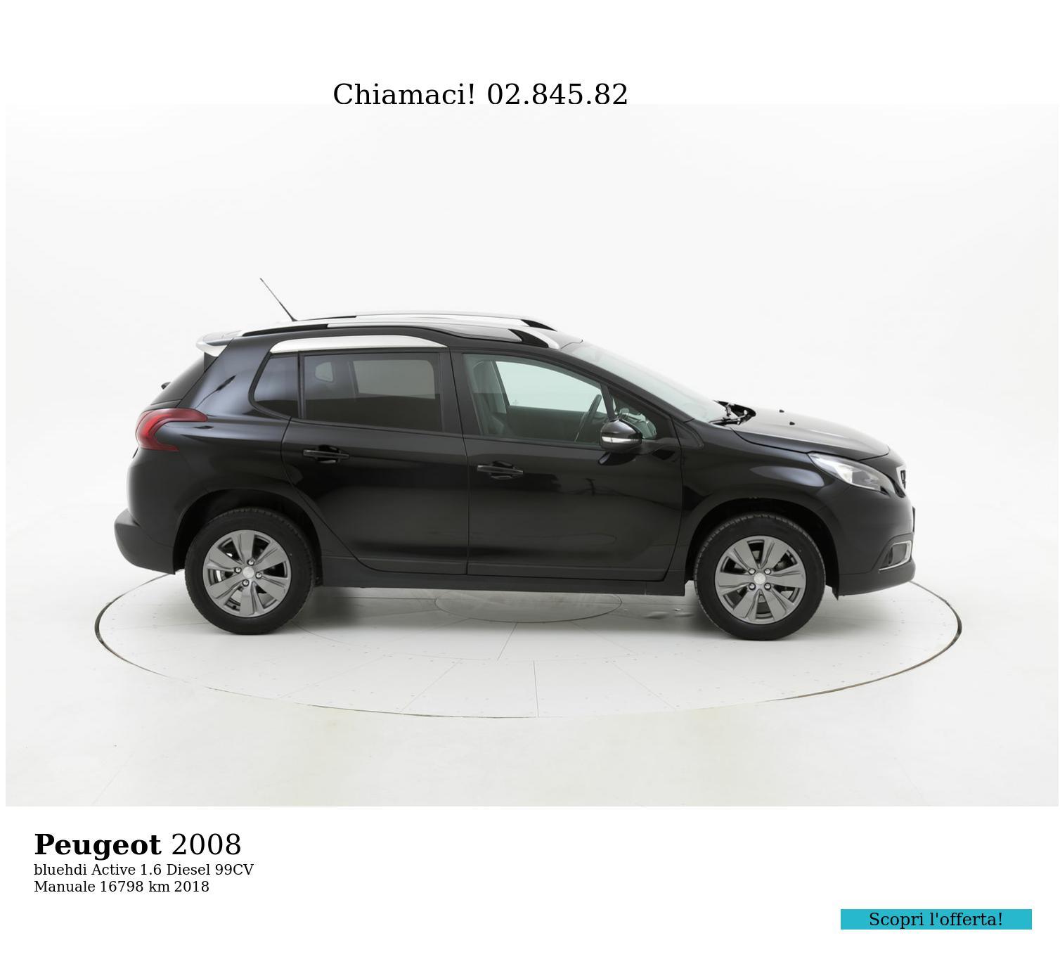Peugeot 2008 usata del 2018 con 23.130 km   brumbrum