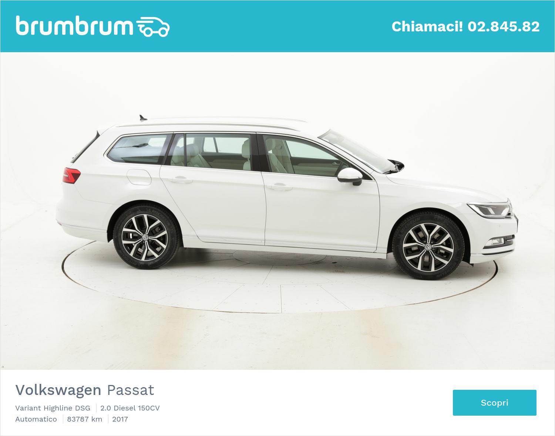 Volkswagen Passat usata del 2017 con 83.860 km | brumbrum
