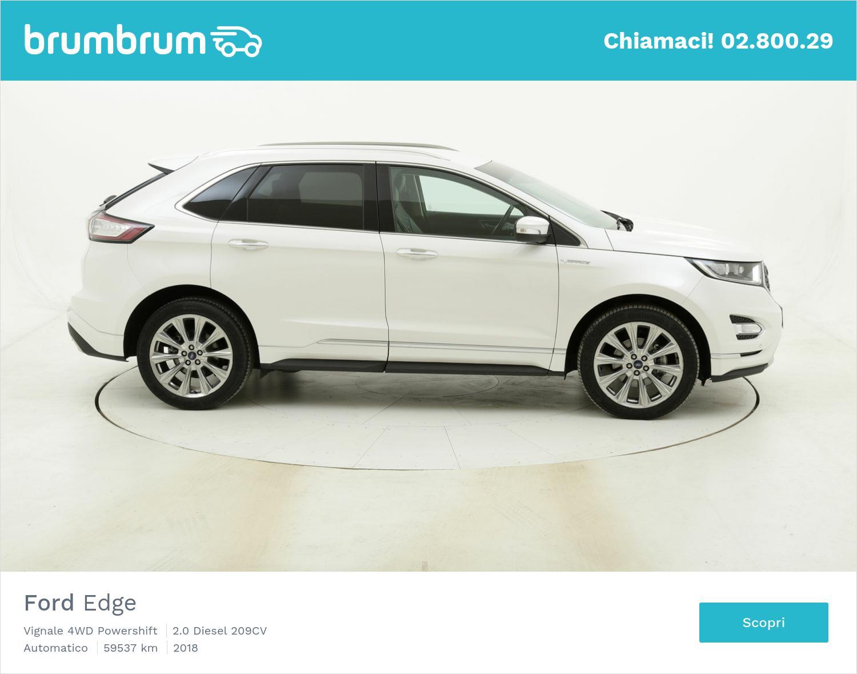 Ford Edge Vignale 4WD Powershift usata del 2018 con 59.665 km | brumbrum