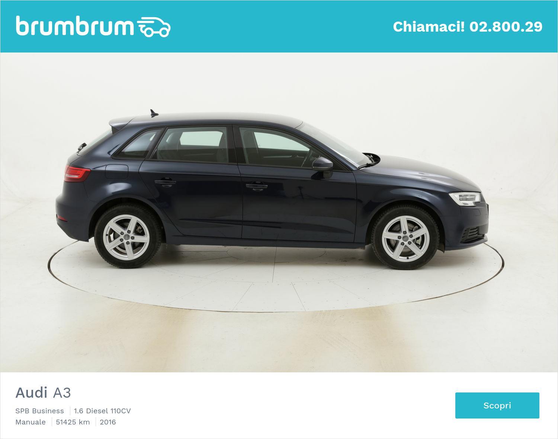 Audi A3 SPB Business usata del 2016 con 51.851 km | brumbrum