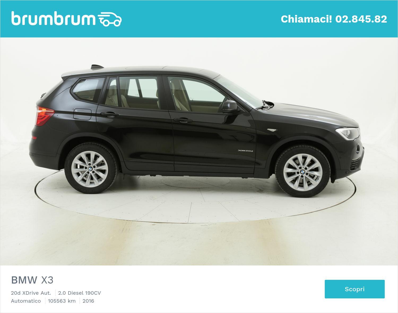 BMW X3 usata del 2016 con 106.207 km | brumbrum