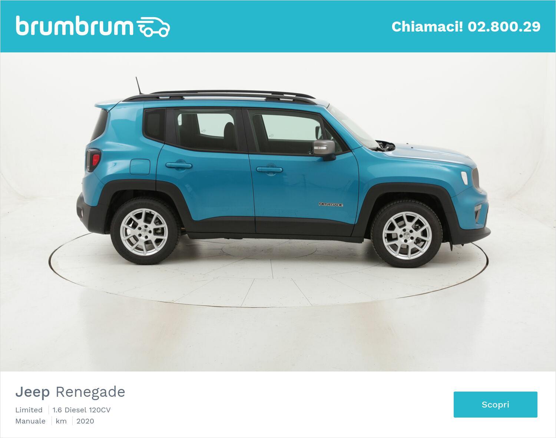 Jeep Renegade Limited usata del 2020 con 9.720 km | brumbrum