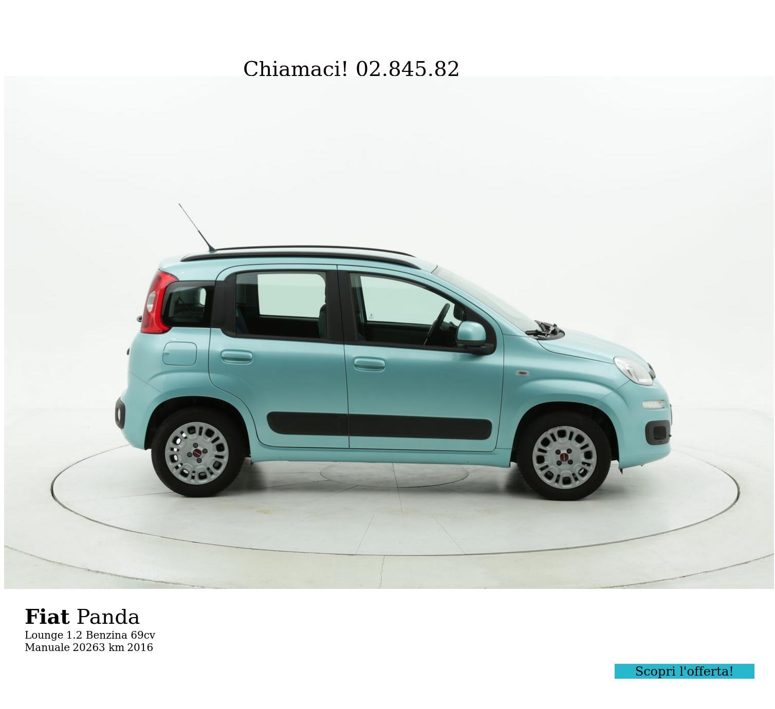 Fiat Panda usata del 2016 con 20.263 km | brumbrum