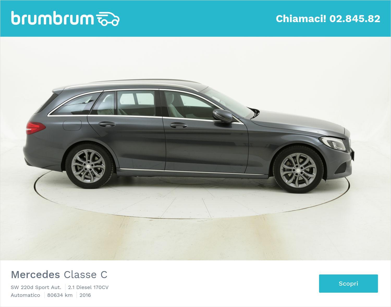 Mercedes Classe C usata del 2016 con 80.709 km   brumbrum