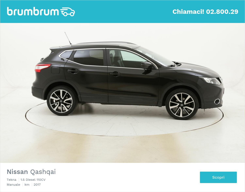 Nissan Qashqai Tekna usata del 2017 con 106.478 km | brumbrum