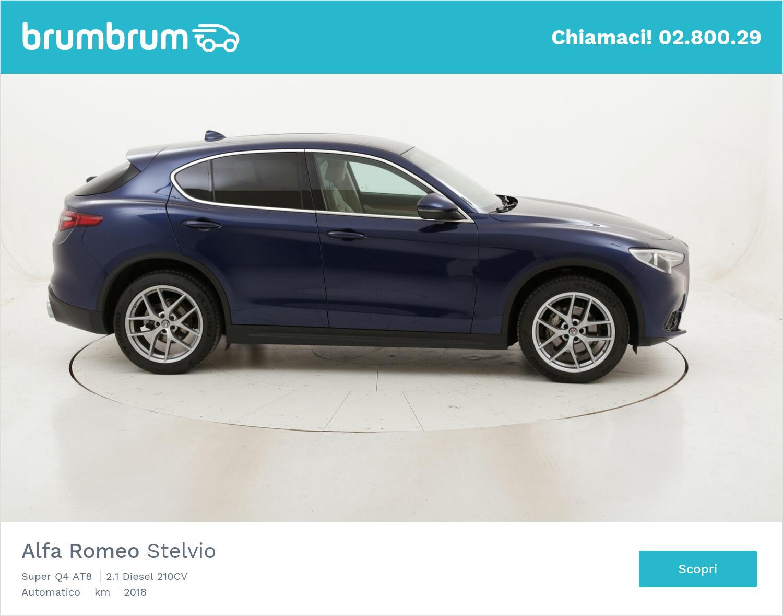 Alfa Romeo Stelvio Super Q4 AT8 usata del 2018 con 75.205 km   brumbrum
