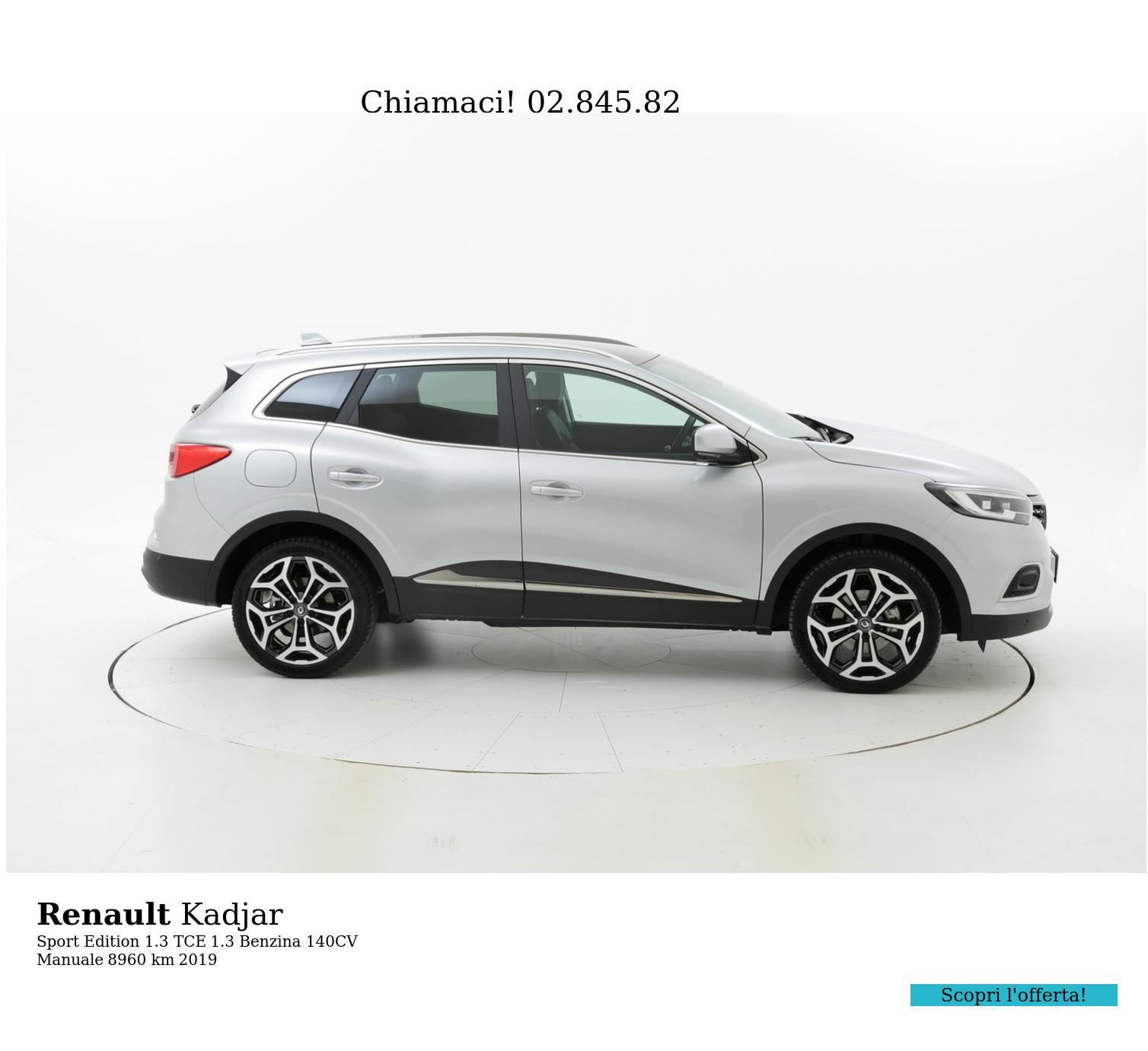 Renault Kadjar usata del 2019 con 8.979 km | brumbrum