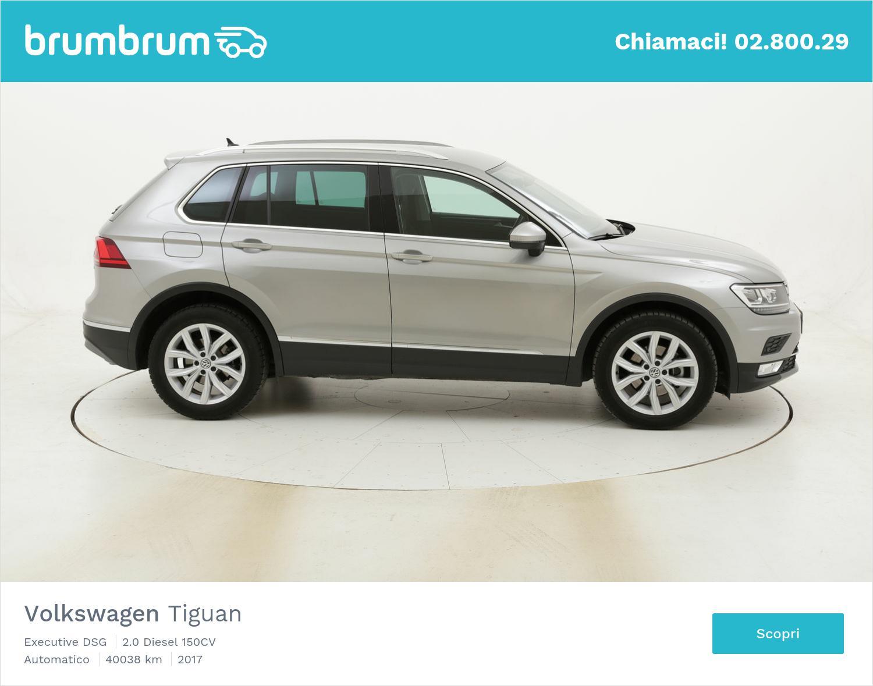 Volkswagen Tiguan Executive DSG usata del 2017 con 40.049 km | brumbrum