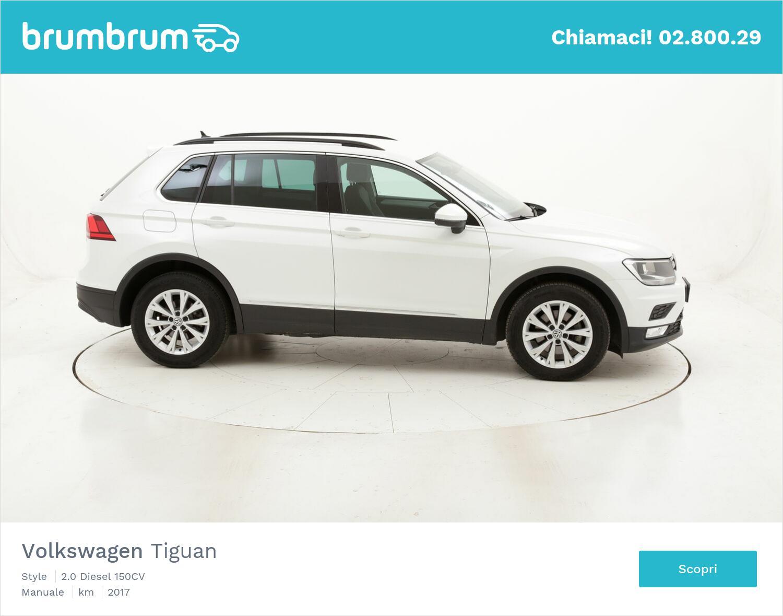Volkswagen Tiguan Style usata del 2017 con 98.044 km   brumbrum