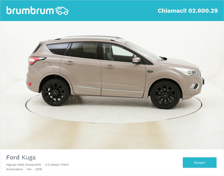 Ford Kuga Vignale 4WD Powershift usata del 2018 con 46.756 km   brumbrum