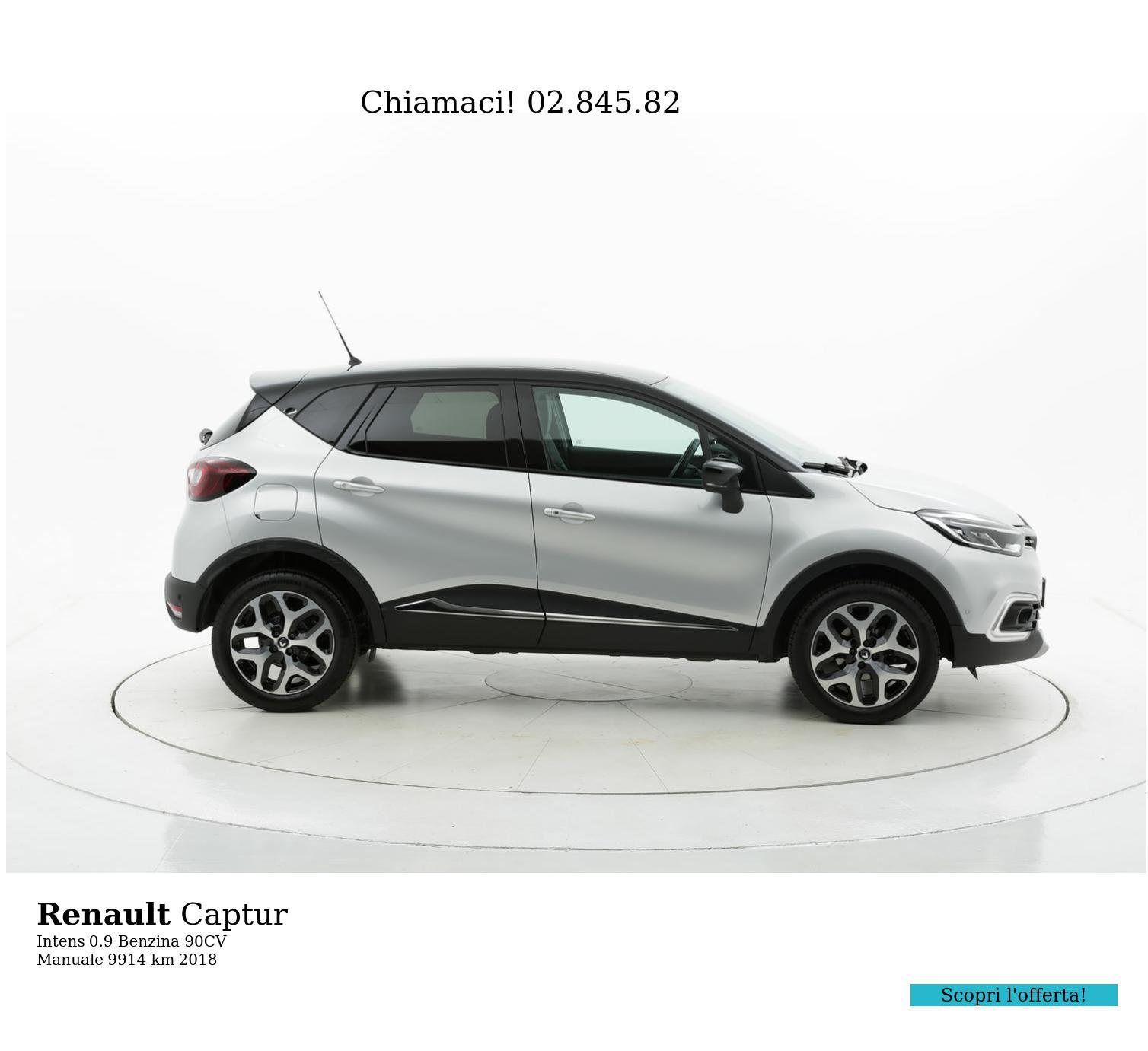 Renault Captur usata del 2018 con 9.916 km | brumbrum