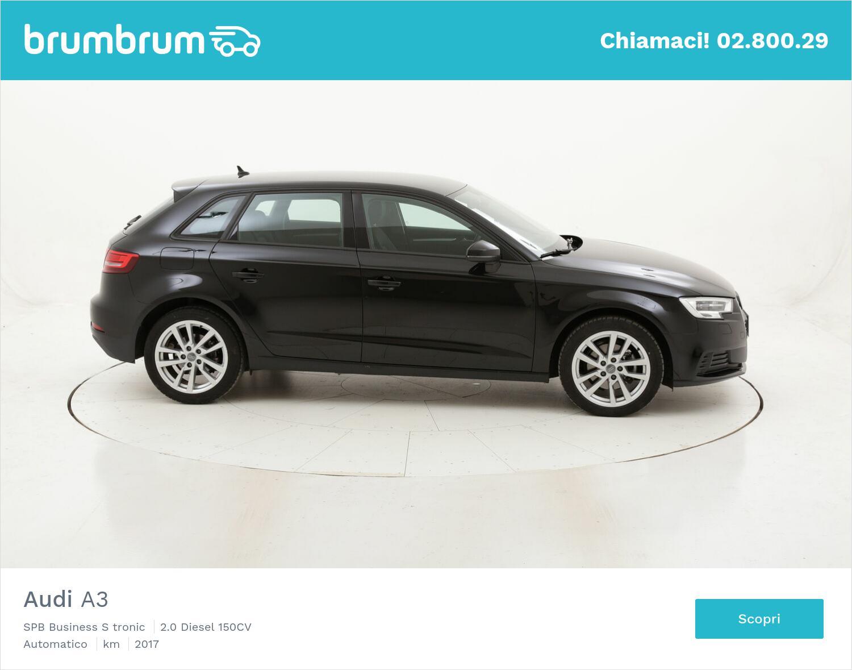 Audi A3 SPB Business S tronic usata del 2017 con 42.236 km | brumbrum