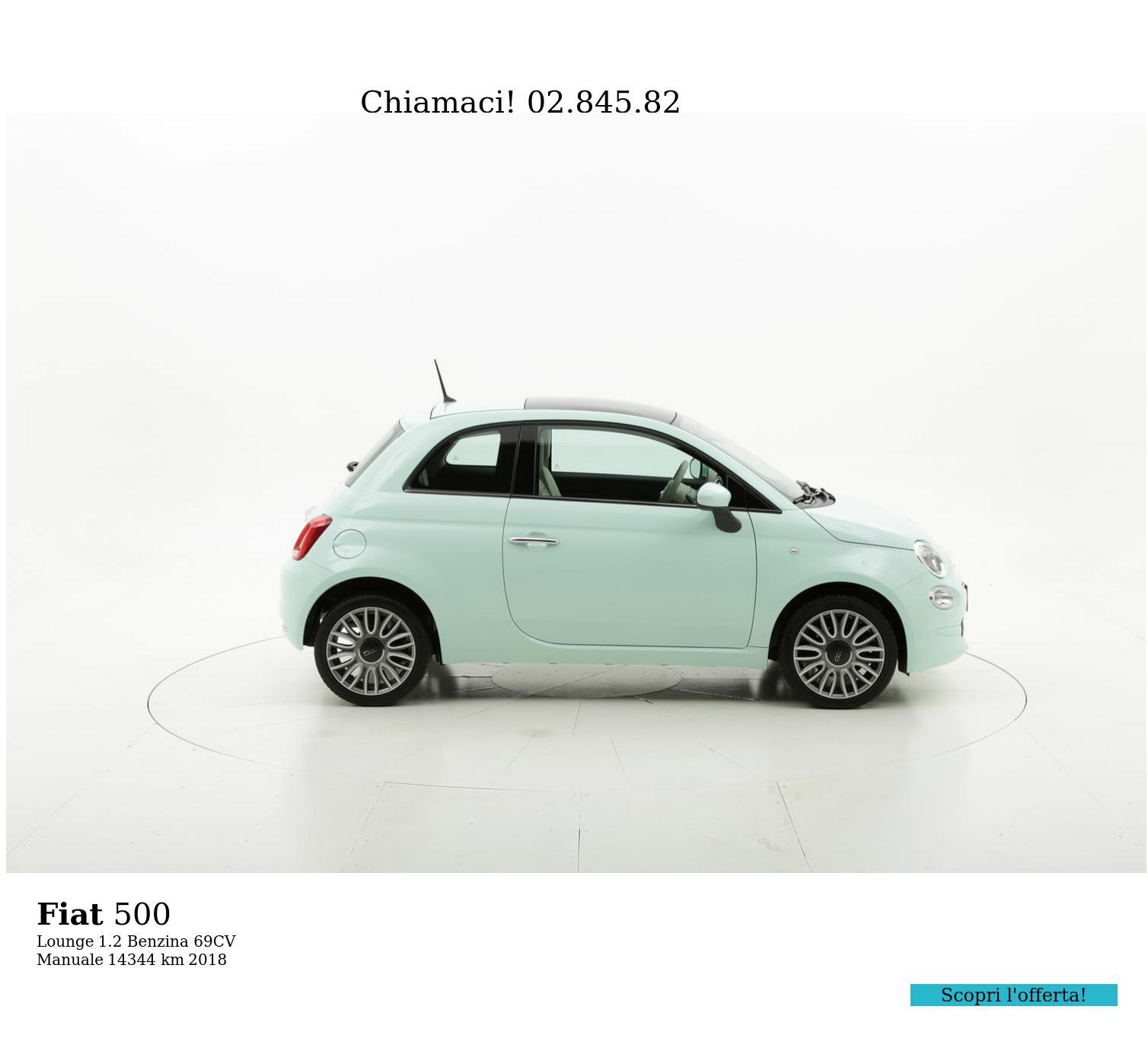 Fiat 500 usata del 2018 con 11.687 km   brumbrum