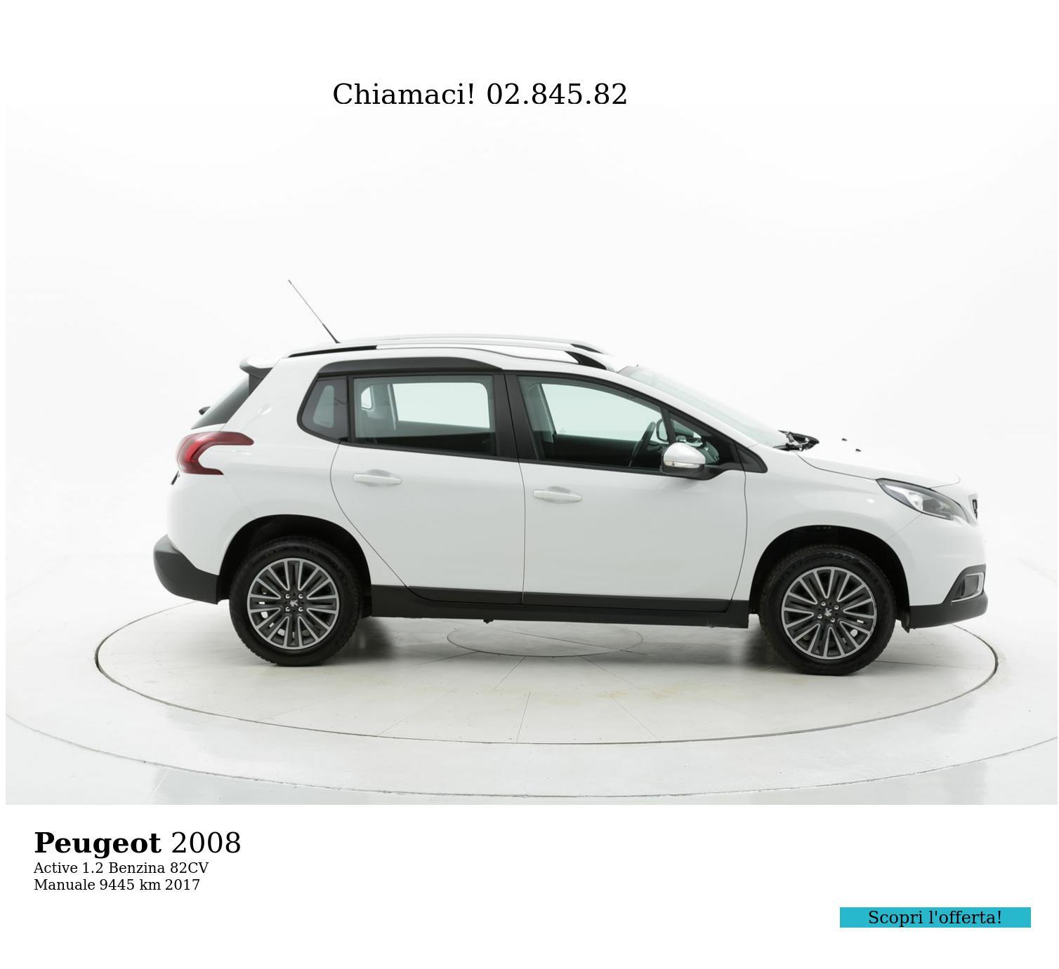 Peugeot 2008 usata del 2017 con 9.449 km | brumbrum